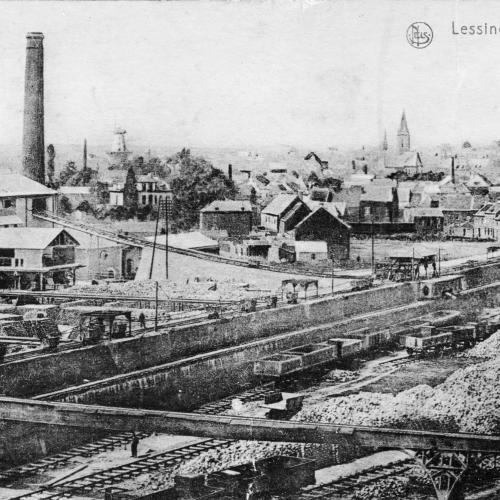 Panorama de Lessines, 1890