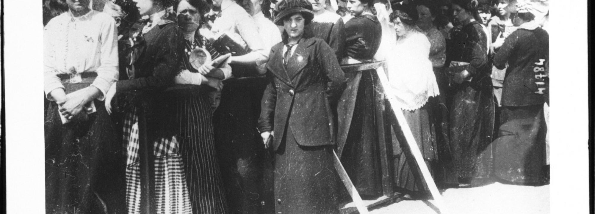 Les épouses attendent des nouvelles, Bruxelles, 1914