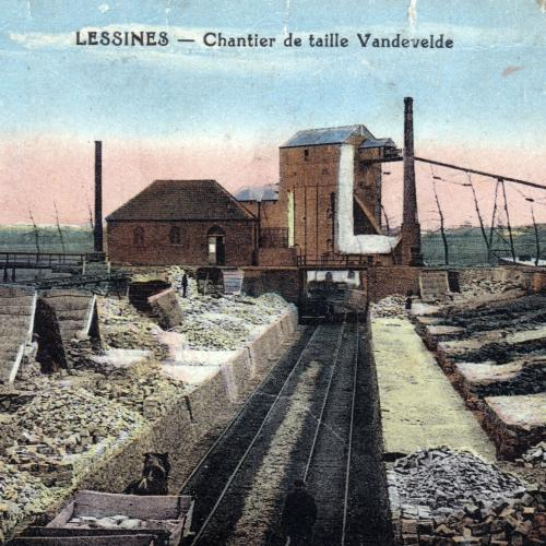 Carrière Vandevelde - chantier de taille